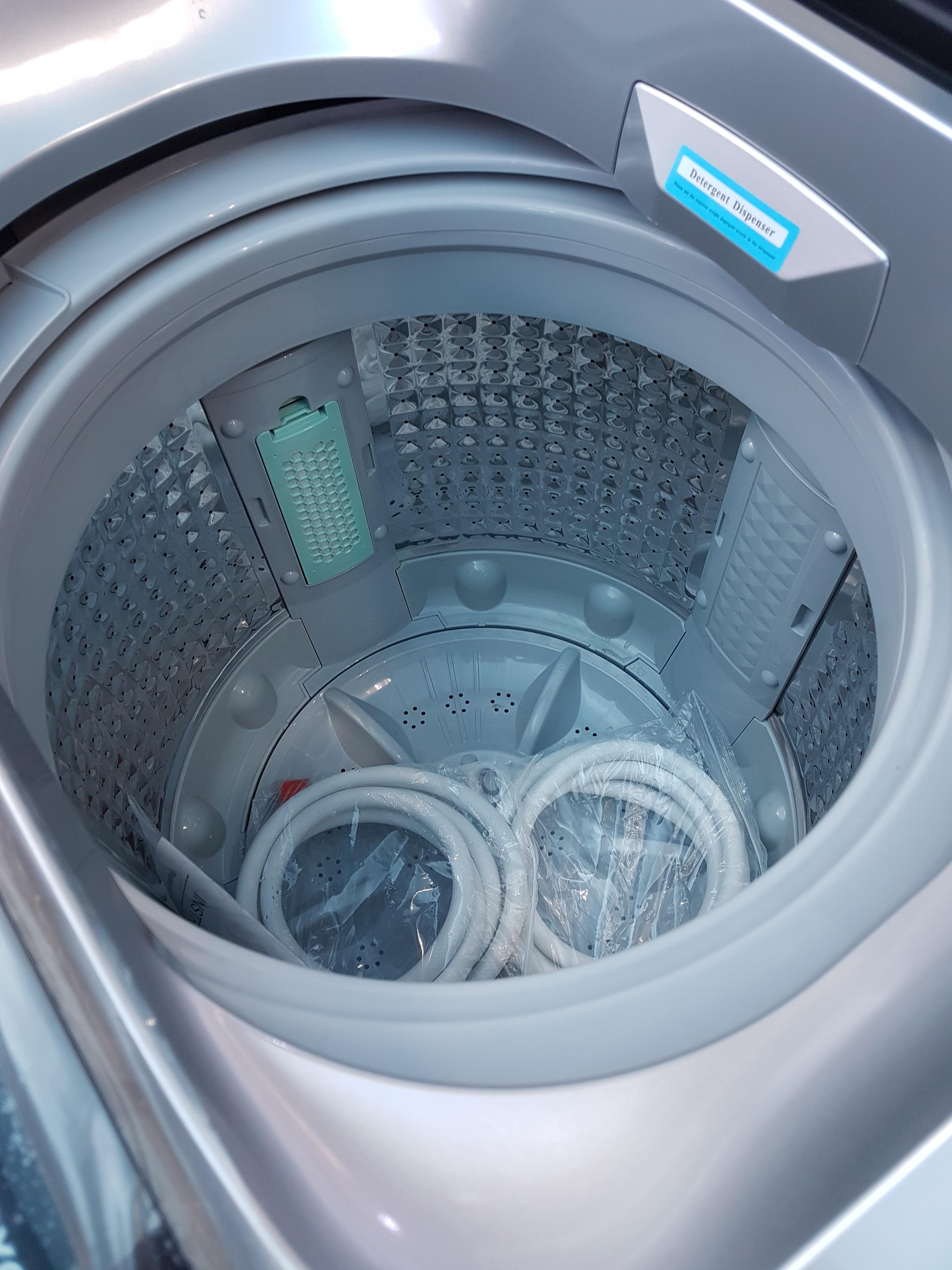 9 0kg Zerowatt Fully Auto Washing Machine Air Jet Dryer