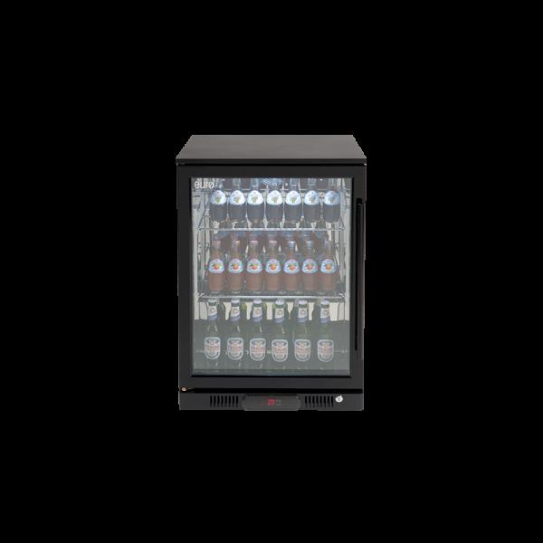 EA60WFBL – 138L Single Glass Door Beverage Cooler