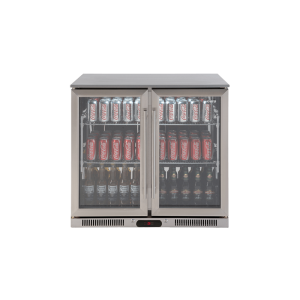 EA900WFSX2 – 208L Double Door Stainless Steel Beverage Cooler