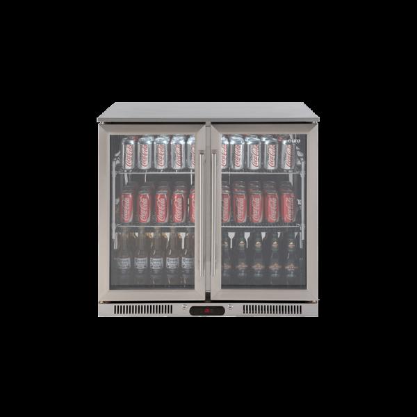 EA900WFSX2 – 208L Double Door Stainless Steel Beverage Cooler