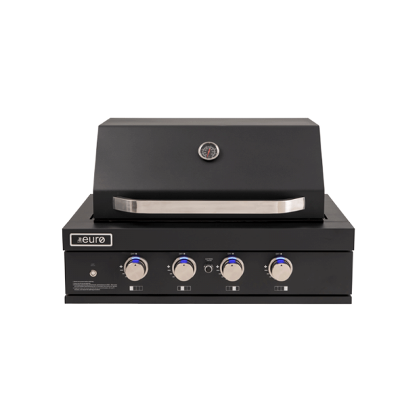EAL900RBQBL – 4 Burner Black Built-In BBQ