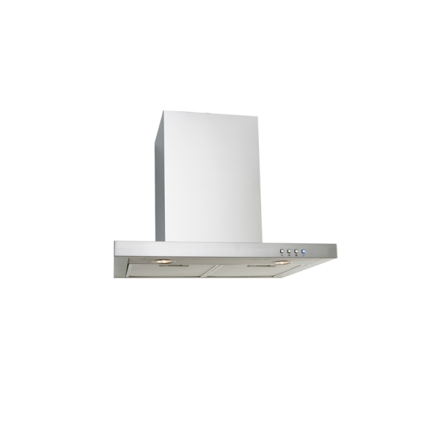 EP600SWSX – 60cm Straight Stainless Steel Canopy