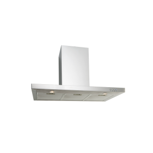 EP900SWSX – 90cm Straight Stainless Steel Canopy