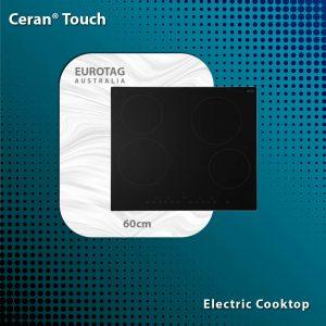 EUROTAG ECT600C4 – 60cm Ceran® Touch Electric Cooktop