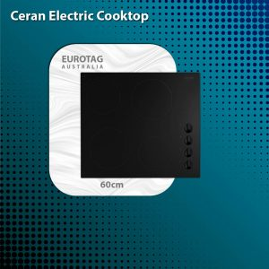 EUROTAG 60cm ECT600C4 Ceran Cooktop – Electric with touch control