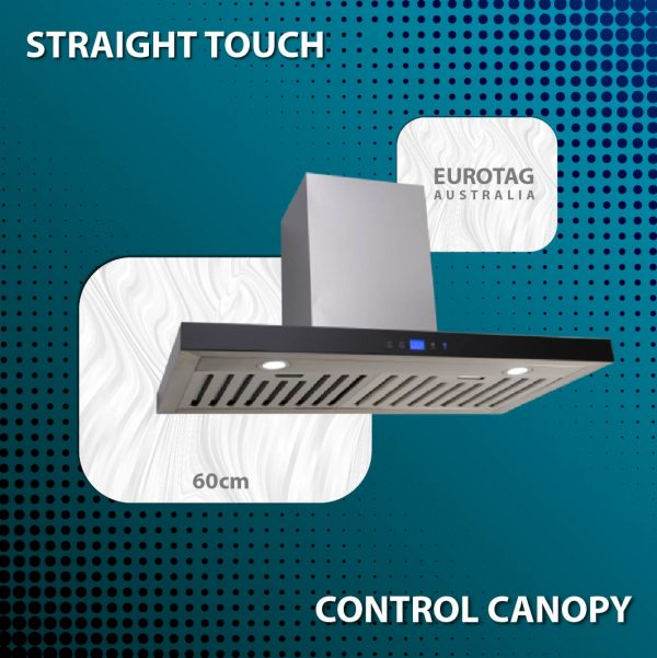 EA60STRS – 60cm Straight Touch Control Canopy