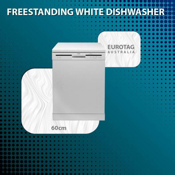EUROTAG Freestanding Dishwasher - White HFC3C32FWUK